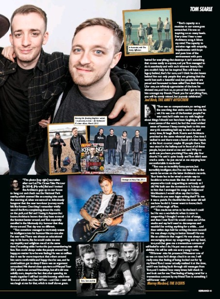 Tom searle kerrang